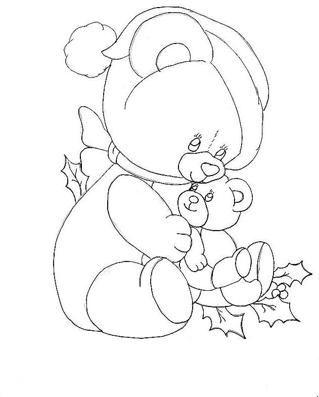 Santa S Coloring Pages